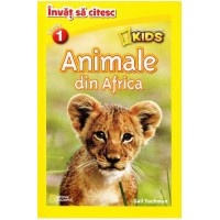 Invat sa citesc nivelul 1 – Animale din Africa – National Geographic Kids