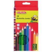Creioane color Jumbo 10/set 1079527/6 Herlitz