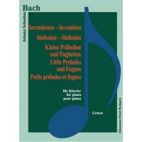 Bach – Invention little preludes and fugues (for piano)