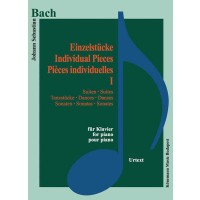 Bach – Individual pieces I (for piano)
