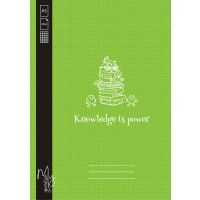 Caiet A5 48F AR Knowledge is power