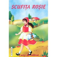 Scufita Rosie - Carte de colorat - Flamingo