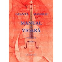 Manual de vioara Vol. III - Anexa