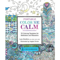 Portable Color Me Calm. Coloring Kit - Lacy Mucklow - Editura Race Point
