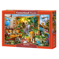 Puzzle 1000 piese Coming To Room - Castorland