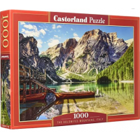 Puzzle 1000 piese The Dolomites Mountains - Castorland