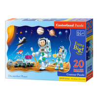 Puzzle 20 Piese Maxi On Another Planet Castorland