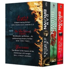 Dan Brown Box Set (Inferno + The Da Vinci Code + Angels and Demons)