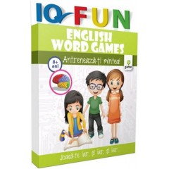 IQ FUN - English Word Games 8+ ani