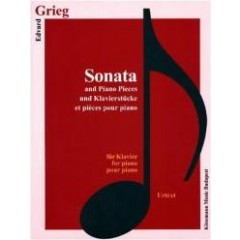 Grieg - Sonata and piano pieces