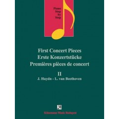 Piano step by step II - First concert pieces J. Haydn - L. Van Beethoven