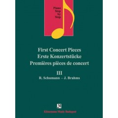 Piano step by step III - First concert pieces R. Schumann - J. Brahms
