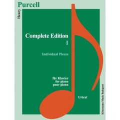Purcell Complete Edition I Individual Pieces