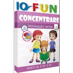 IQ Fun – Concentrare 5+ ani