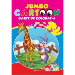Jumbo Cartoon. Carte de colorat 6