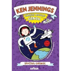 Cartile micului geniu: Spatiul cosmic (Junior Genius Guides: Outer Space) - Ken Jennings - Editura Art