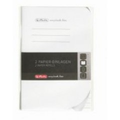 Rezerva My book flex A6 40 file 70g dictando 9469470 Herlitz