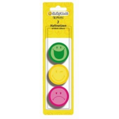 Memo sticker rotund smiley world 3/set 11238003 Herlitz