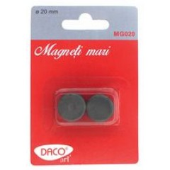 Magneti 20mm 10/set MG020 Daco