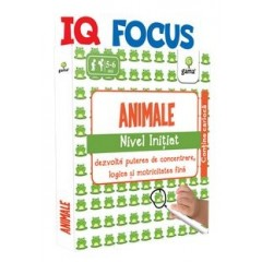 IQ FOCUS - Animale . Nivel Initiat