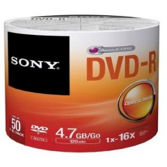 DVD-R 4.7GB 16X 50/PA Sony
