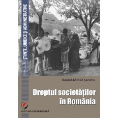 Dreptul societatilor in Romania