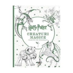 Harry Potter - creaturi magice - carte de colorat