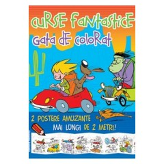 Curse fantastice gata de colorat - Animale