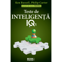 Teste de inteligenta IQ1 - Ken Russell, Philip Carter - Editura Meteor Press