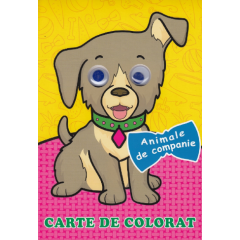 Animale de companie. Carte de colorat - Editura Biblion