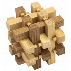 3D Bamboo Puzzle Slide - Ludicus