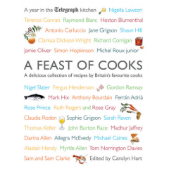 A Feast of Cooks: A Year in the Telegraph Kitchen - Carolyn Hart - Editura Simon & Schuster