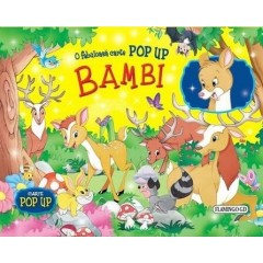Bambi. Carte pop-up - Editura Flamingo