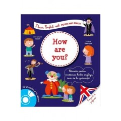 I learn English with Peter and Emily! How are you? + CD