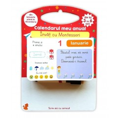Calendarul meu anual. Invat cu Montessori - Editura Didactica Publishing House