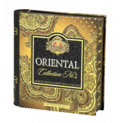 Ceai in cutie tip carte Oriental Collection - Assorted (Vol.II) 24 plicuri 60G 71707 - Basilur