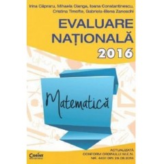 Evaluarea nationala 2016 - Matematica