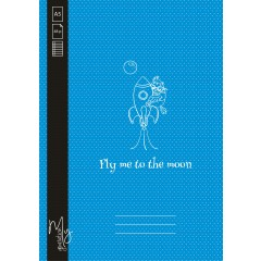 Caiet A5 48F DR Fly me to the moon