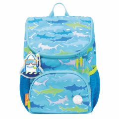 Ghiozdan gradinita Mini Little Travelers Plus, motiv Blue Aquarium - Herlitz
