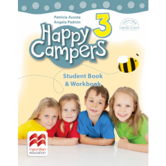 Happy Campers. Stuent's Book & Workbook - clasa a III-a + varianta audio gratuita online