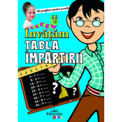 Invatam tabla impartirii - Editura Prestige Kids