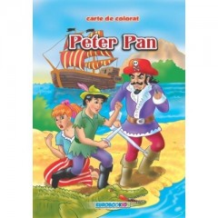 Peter Pan. Carte de colorat - Editura Eurobook