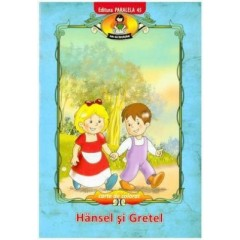 Hansel si Gretel - carte de colorat