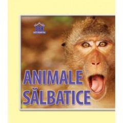 Animale salbatice. Pliant - Editura Didactica Publishing House