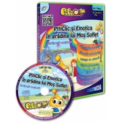 CD educativ - Piticlic si emotica in gradina lui Mos Suflet (3-7 ani)