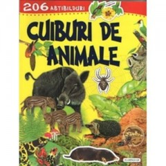 Cuiburi de animale + 206 abtibilduri