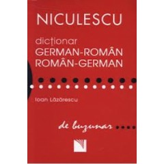 Dictionar german-roman/roman-german de buzunar