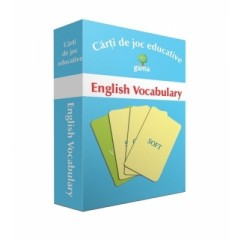 English Vocabulary - Carti de joc educative