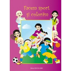 Facem sport si coloram