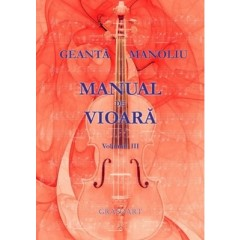 Manual de vioara vol. III